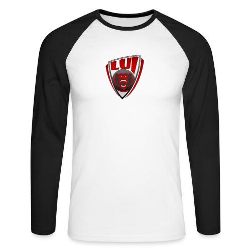 LUI logo - Maglia da baseball a manica lunga da uomo