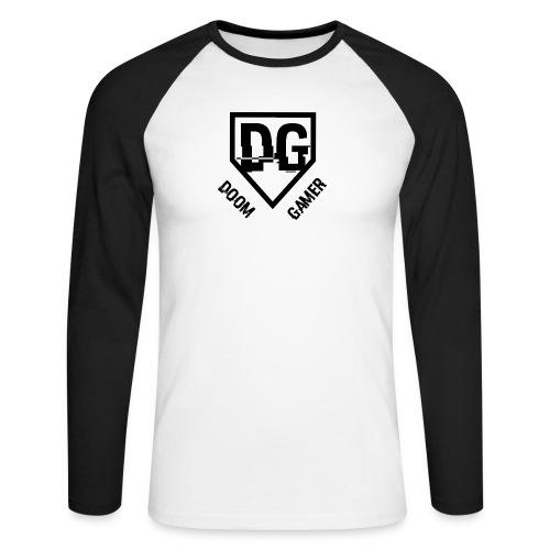 Doom gamer trui - Mannen baseballshirt lange mouw