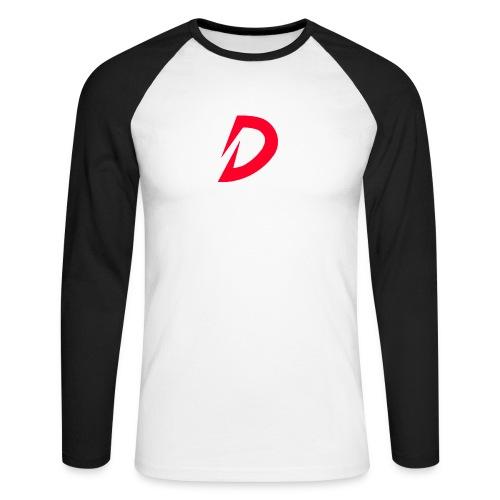 Destra Logo by Atelier render red - Mannen baseballshirt lange mouw