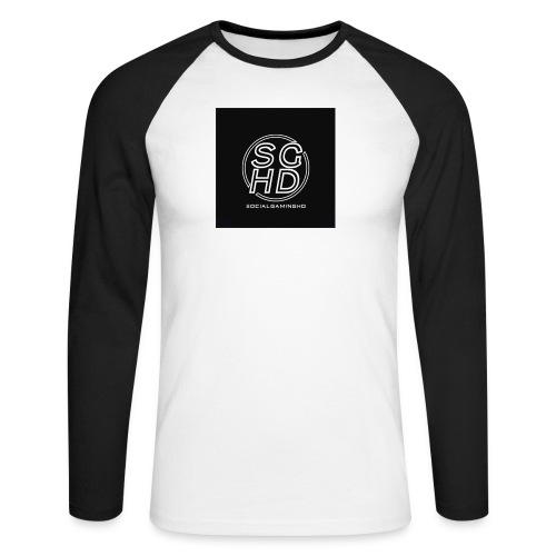 SocialGamingHD merch - Men's Long Sleeve Baseball T-Shirt