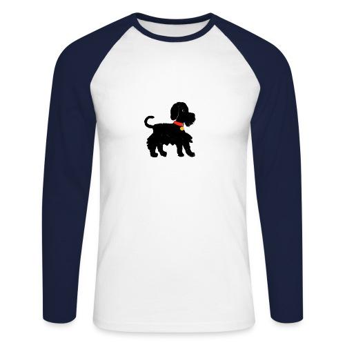 Schnauzer dog - Men's Long Sleeve Baseball T-Shirt