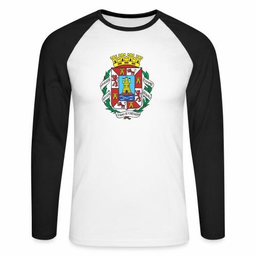 Escudo Cartagena - Raglán manga larga hombre