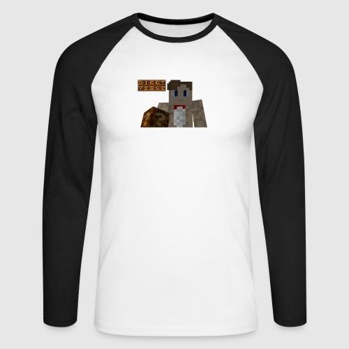 DiggyVerse Mystery - Men's Long Sleeve Baseball T-Shirt