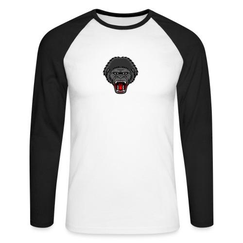 gorilla - Mannen baseballshirt lange mouw