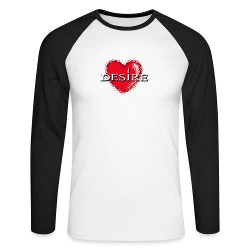 Desire Nightclub - Men's Long Sleeve Baseball T-Shirt