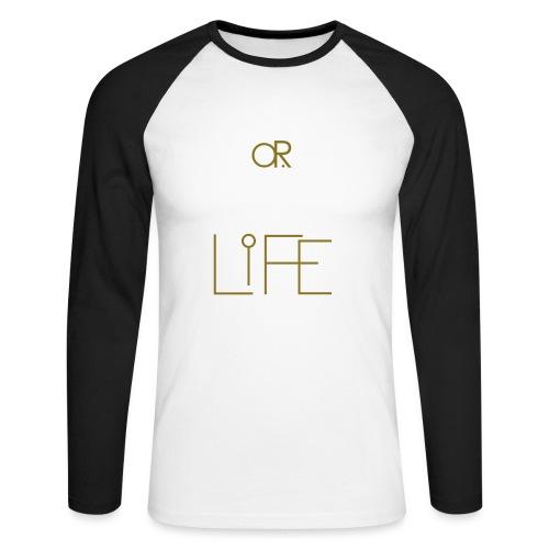 O.ne R.eligion O.R Life - T-shirt baseball manches longues Homme