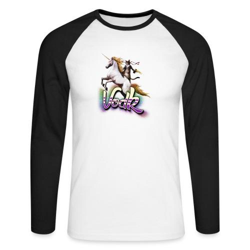 VodK licorne png - T-shirt baseball manches longues Homme