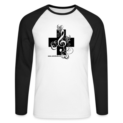 Swiss Beatz Logo non L - Männer Baseballshirt langarm