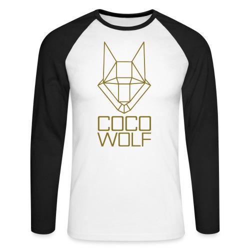 COCO WOLF - Männer Baseballshirt langarm