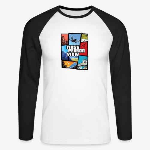 Ultimate Video Game - Men's Long Sleeve Baseball T-Shirt