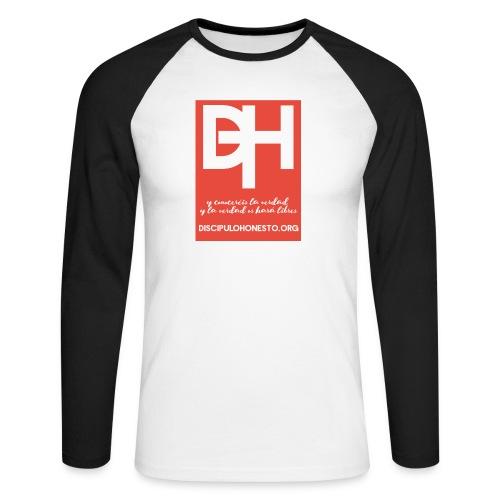Camiseta Oficial DiscipuloHonesto.org - Raglán manga larga hombre