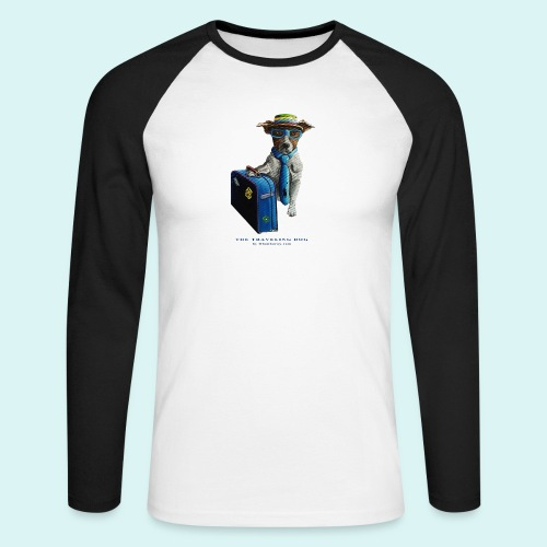The Traveling Dog - Men's Long Sleeve Baseball T-Shirt