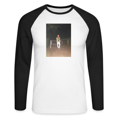 Jay Dane - Langærmet herre-baseballshirt