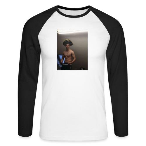 El Padre - Men's Long Sleeve Baseball T-Shirt