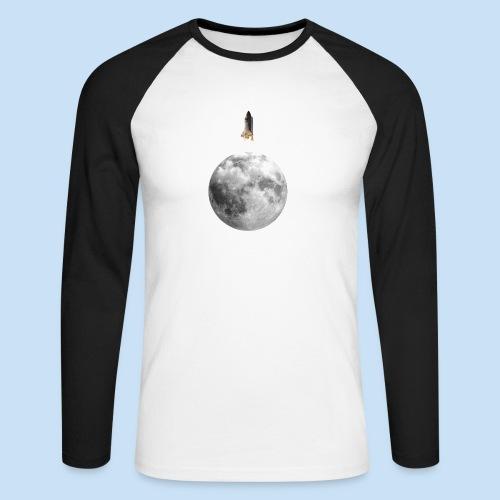 Mondrakete - Männer Baseballshirt langarm