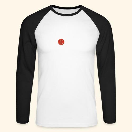LOVE Cross basketball red 001 - Männer Baseballshirt langarm