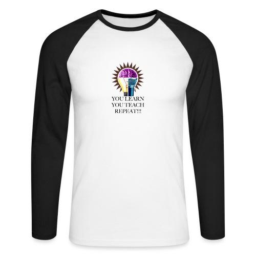 Your Learn T-shirt - Långärmad basebolltröja herr