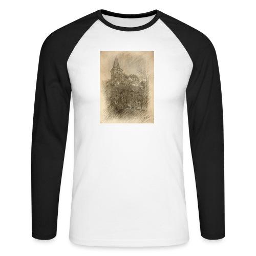 Baalberger Kirche - Männer Baseballshirt langarm
