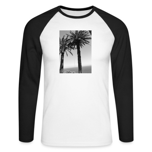 arbre - T-shirt baseball manches longues Homme