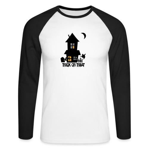 Happy Halloween - Männer Baseballshirt langarm