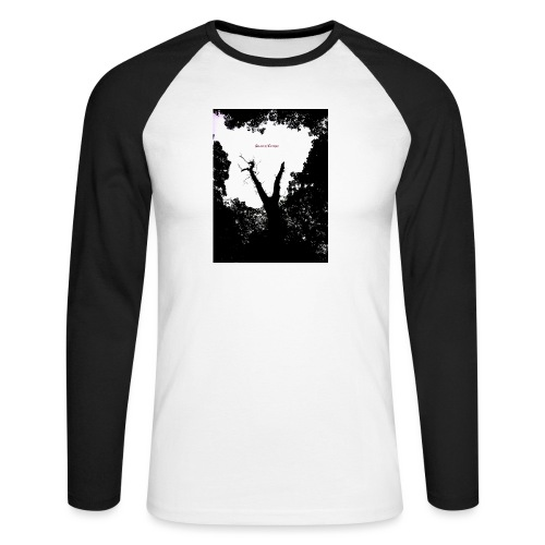 Scarry / Creepy - Men's Long Sleeve Baseball T-Shirt