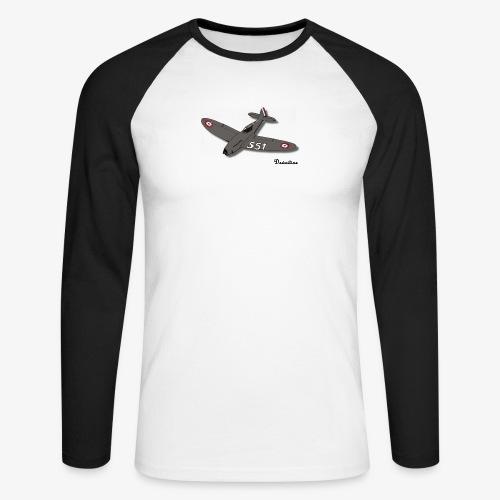 D551 - T-shirt baseball manches longues Homme