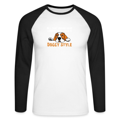 Doggy Style - T-shirt baseball manches longues Homme