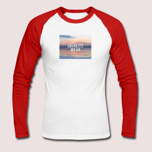 Mountain Equality Edition - Men's Long Sleeve Baseball T-Shirt