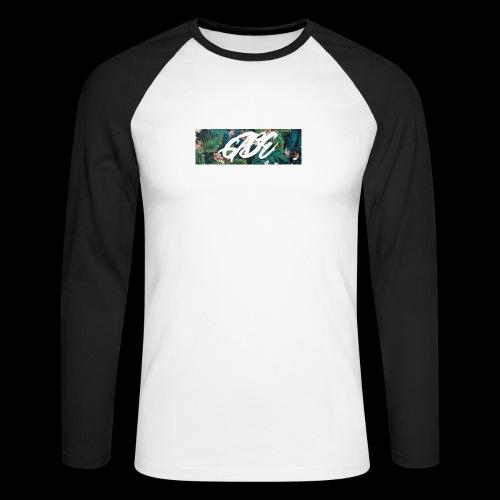GABE FLOW - Männer Baseballshirt langarm