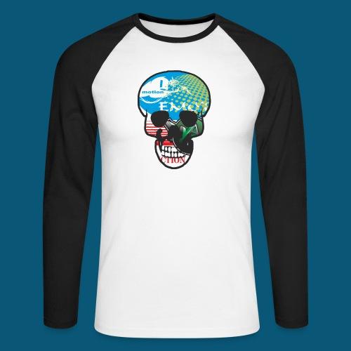 Logo Skull.png - Männer Baseballshirt langarm
