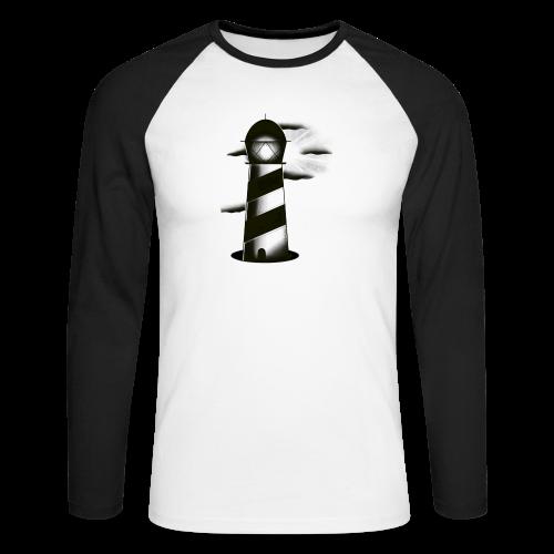 faro shirt - Maglia da baseball a manica lunga da uomo