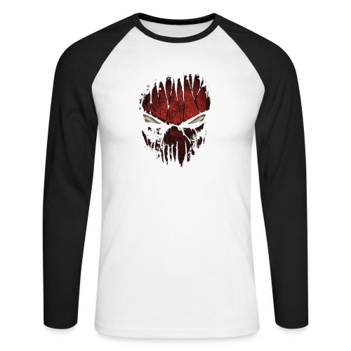 spyder man ( Vio ) - Men's Long Sleeve Baseball T-Shirt