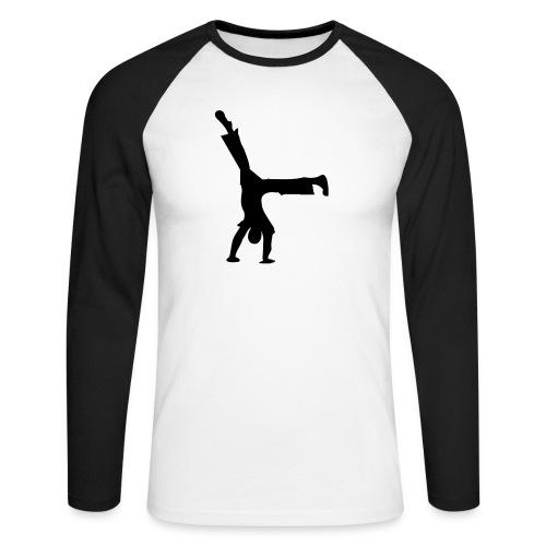 au boy - Men's Long Sleeve Baseball T-Shirt