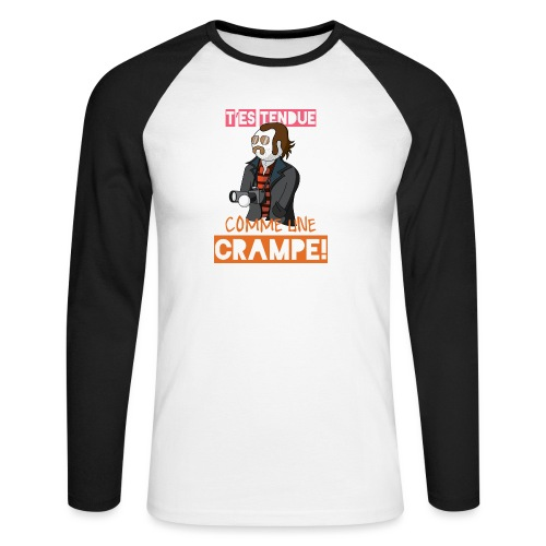 Claudy Faucan Dikkenek - T-shirt baseball manches longues Homme