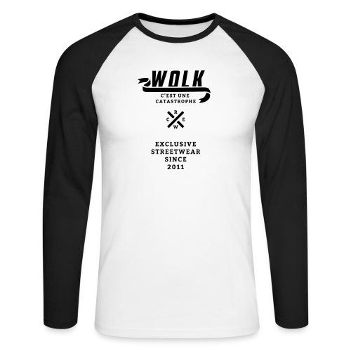 varsityx04 - Mannen baseballshirt lange mouw