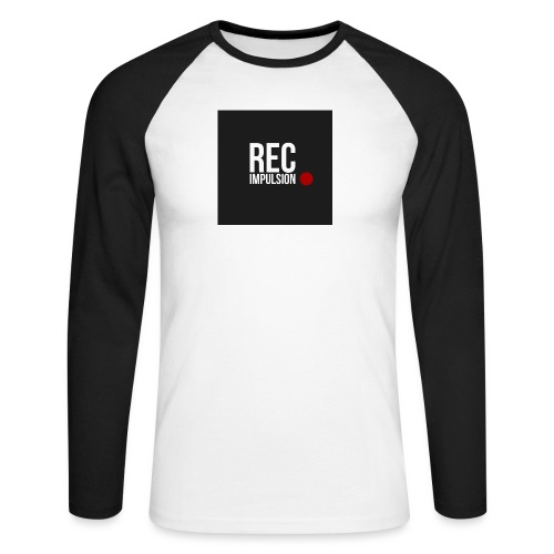 REC - T-shirt baseball manches longues Homme