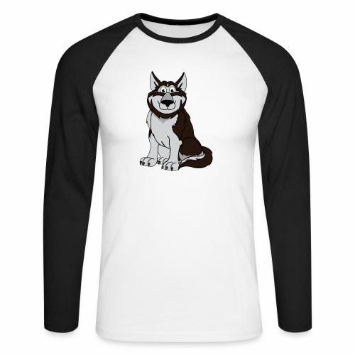 Husky - Männer Baseballshirt langarm