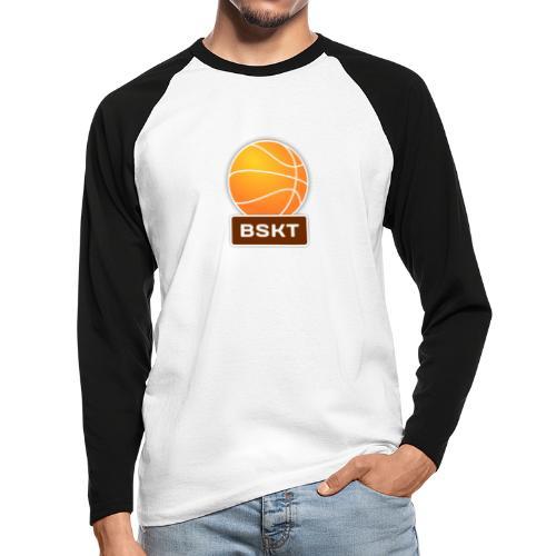 Basket - Raglán manga larga hombre