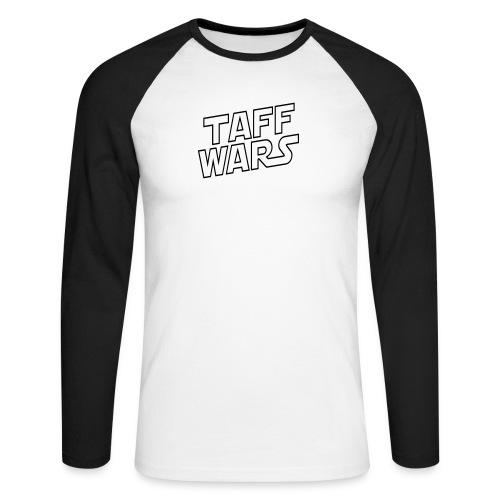 taffwars logo angle - Men's Long Sleeve Baseball T-Shirt