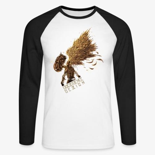 cyberpunk Angel - T-shirt baseball manches longues Homme