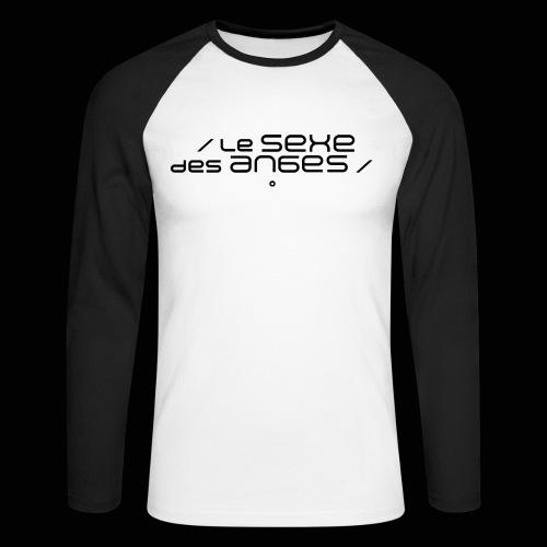 Le sexe des anges - T-shirt baseball manches longues Homme