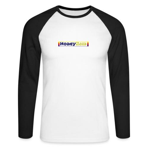 present by HoneyRam - Männer Baseballshirt langarm
