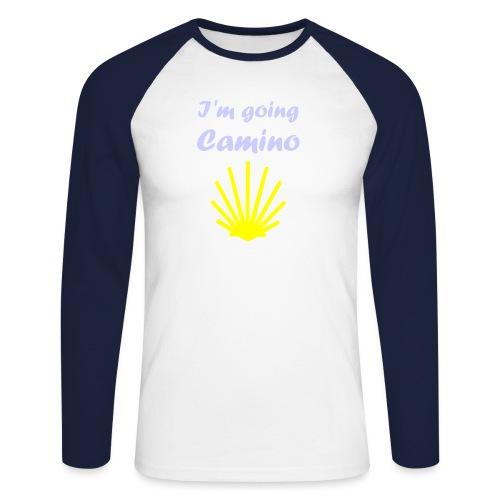 Going Camino - Langærmet herre-baseballshirt