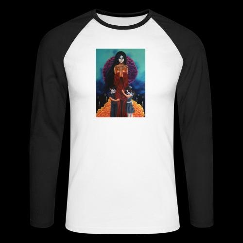 los fieles difuntos - Men's Long Sleeve Baseball T-Shirt