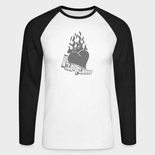 6157297 118653652 wilde flamme tatto - Männer Baseballshirt langarm