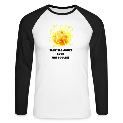 T shirt DBZ - T-shirt baseball manches longues Homme