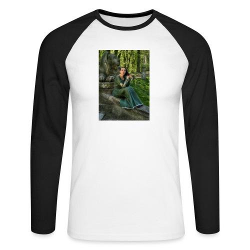 Stone Guardian - Koszulka męska bejsbolowa z długim rękawem