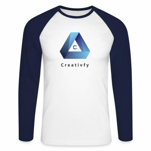 creativfy - Männer Baseballshirt langarm