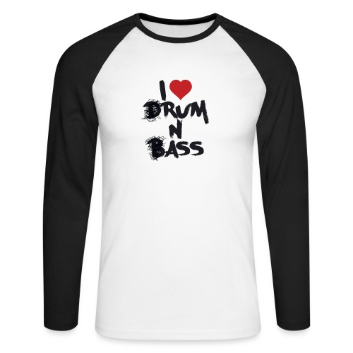 I <3 Rum N Ass - T-shirt baseball manches longues Homme