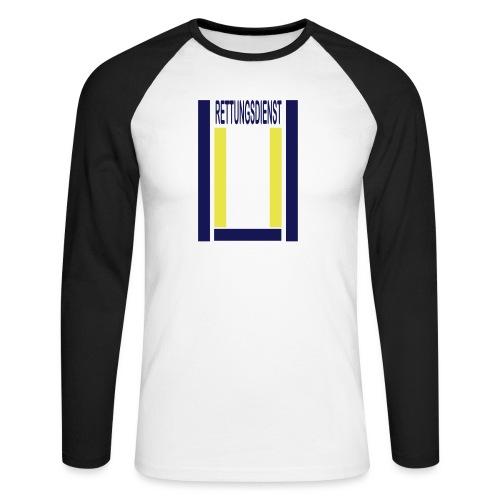 Rettungsdienst Junior Shirt - Männer Baseballshirt langarm